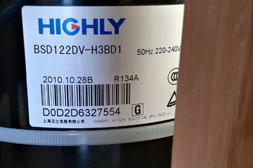 Rollkolbenkompressor Highly BSD122DV